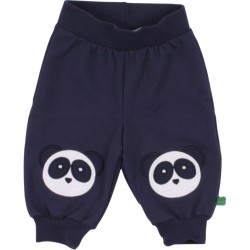 Fred`s World by Green Cotton - Bio Kinder Sweathose mit Pandas