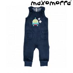 Maxomorra - Bio Baby Strampler mit Raumschiff-Motiv