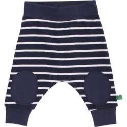 Fred`s World by Green Cotton - Bio Baby Sweathose mit Streifen