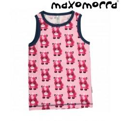Maxomorra - Bio Kinder Unterhemd mit Einhorn-Motiv