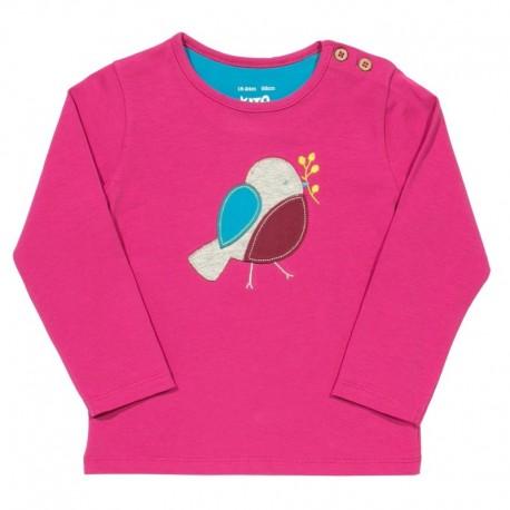 kite kids - Bio Baby Langarmshirt mit Vogel-Motiv