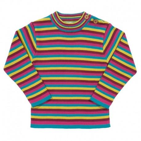 kite kids - Bio Baby Pullover mit Streifen