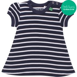 Fred`s World by Green Cotton - Bio Kinder Kleid mit Streifen