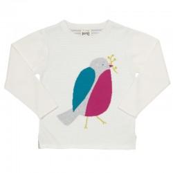 kite kids - Bio Kinder Pullover mit Vogel-Motiv