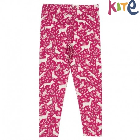 kite kids - Bio Kinder Leggings mit Waldtieren-Motiv