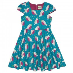 kite kids - Bio Kinder Kleid mit Vogel-Motiv