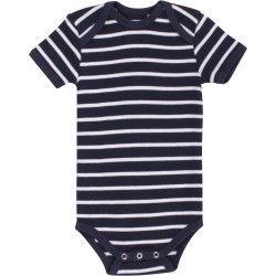 Fred`s World by Green Cotton - Body kurzarm mit Streifen