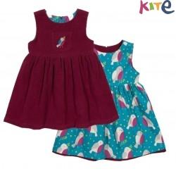 kite kids - Bio Baby Wende Kleid mit Vogel-Motiv