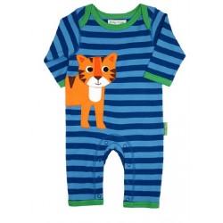 Toby tiger - Bio Baby Strampler mit Tiger-Motiv