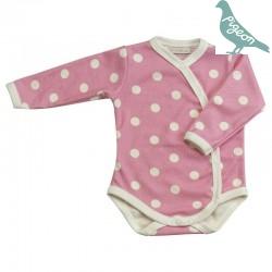 Pigeon - Bio Baby Body mit Punkten