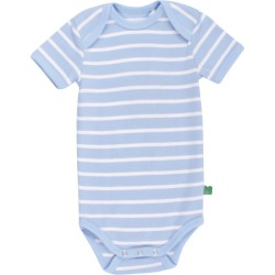 Fred`s World by Green Cotton - Bio Baby Body kurzarm mit Streifen