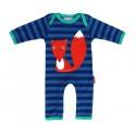 Toby tiger - Bio Baby Strampler mit Fuchs-Motiv