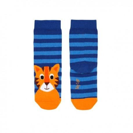 Toby tiger - Bio Kinder Socken mit Tigern