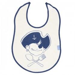 Holy Water - Baby Lätzchen mit Piratenjungen-Motiv