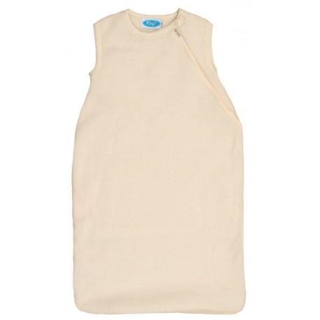 Reiff - Bio Fleece Schlafsack ohne Arm Wolle natur
