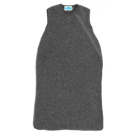 Reiff - Bio Fleece Schlafsack ohne Arm Wolle fels