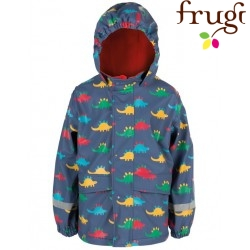 frugi - Kinder Regenjacke mit Dino-Motiv
