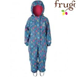 frugi - Kinder Regenanzug mit Eulen-Motiv
