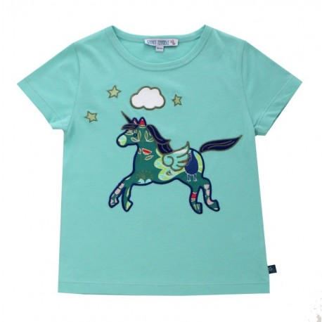 Enfant Terrible - Bio Kinder T-Shirt mit Einhorn-Motiv