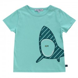 Enfant Terrible - Bio Kinder T-Shirt mit Hai-Motiv
