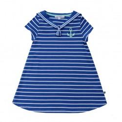 Enfant Terrible - Bio Kinder Shirtkleid mit Streifen