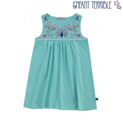 Enfant Terrible - Bio Kinder Kleid mit Stickerei