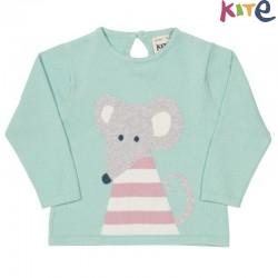 kite kids - Bio Kinder Sweatshirt mit Maus-Motiv