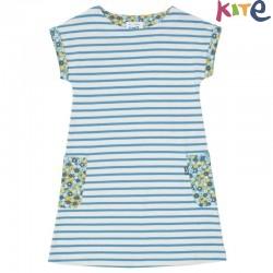 kite kids - Bio Kinder Kleid mit Streifen