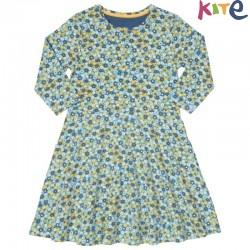 kite kids - Bio Kinder Kleid mit Blumen-Motiv