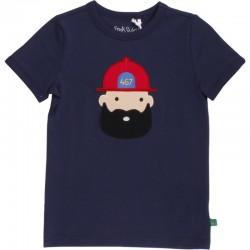 Fred`s World by Green Cotton - Bio Kinder T-Shirt mit Feuerwehrmann