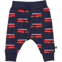 Fred`s World by Green Cotton - Bio Kinder Sweathose mit Feuerwehr-Motiv