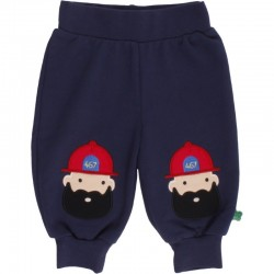 Fred`s World by Green Cotton - Bio Kinder Sweathose mit Feuerwehrmann
