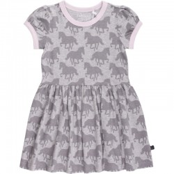 Fred`s World by Green Cotton - Bio Kinder Kleid mit Pferde-Motiv