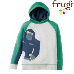 """frugi - Bio Kinder Sweatshirt """"Hedgerow"""" mit Affen-Motiv"""