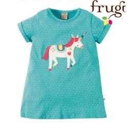 """frugi - Bio Kinder T-Shirt """"Sophie"""" mit Einhorn-Motiv"""