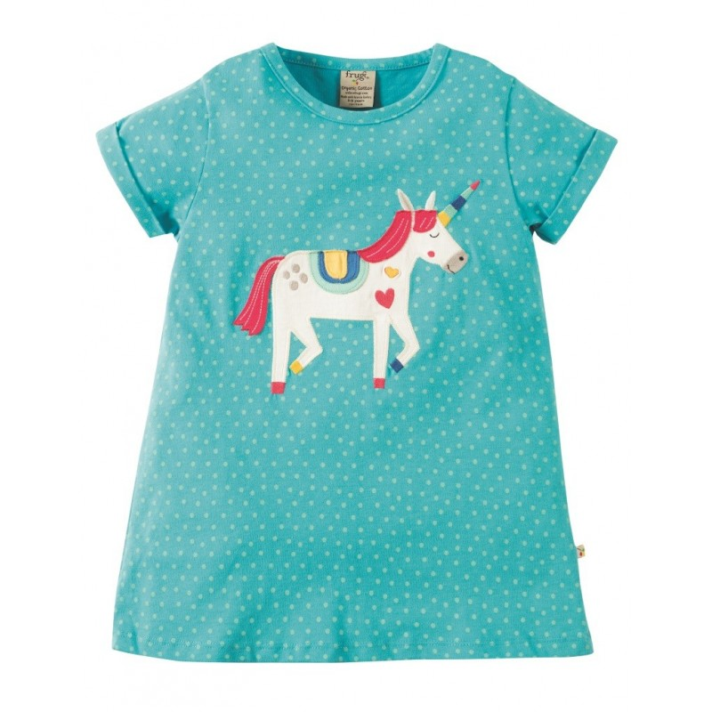 frugi bio kinder t shirt sophie mit einhorn motiv. Black Bedroom Furniture Sets. Home Design Ideas
