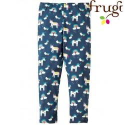 "frugi - Bio Kinder Leggings ""Libby"" mit Einhorn-Motiv"