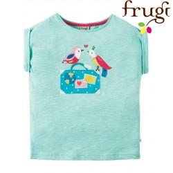 "frugi - Bio Kinder T-Shirt ""Sophia "" mit Vogel-Motiv"