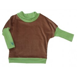 Lena Lieb - Baby Pullover Haussperling Wolle/Seide
