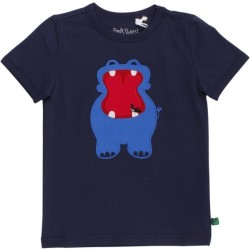 Fred`s World by Green Cotton - Bio Kinder T-Shirt mit Nipferd-Motiv