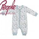 People Wear Organic - Bio Baby Strampler mit Hunde-Allover