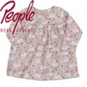 People Wear Organic - Bio Baby Kleid mit Katzen-Allover