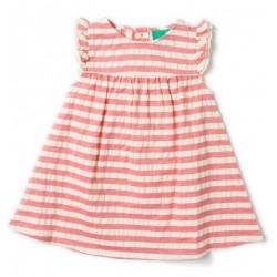 Little Green Radicals - Bio Kinder Kleid mit Streifen