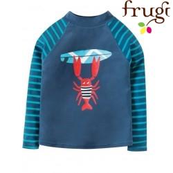 frugi - Kinder Badeshirt mit Krabben-Motiv