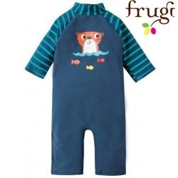 """frugi - Baby Schwimmanzug """"Little Sun"""" mit Otter-Motiv"""