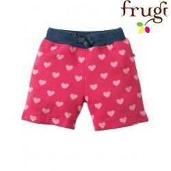 "frugi - Bio Kinder Shorts ""Sydney"" mit Herzen-Motiv"
