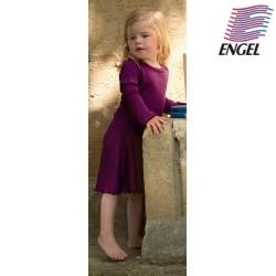 ENGEL - Bio Kinder Nachthemd, Wolle/Seide, orchidee