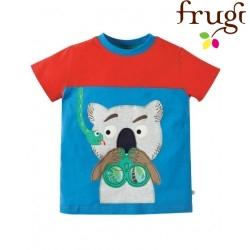 "frugi - Bio Kinder T-Shirt ""Crantock"" mit Koala-Motiv"