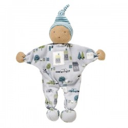 People Wear Organic - Manderl Puppe, blau