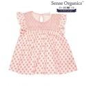 "Sense Organics - Bio Kinder Bluse ""Daisy"" mit Paisley-Motiv"